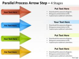 Parallel Process Arrow Step 4 Stages 34