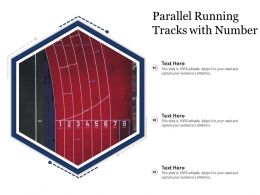 Parallel Running Tracks With Number