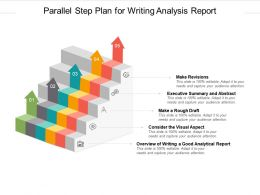 Parallel Step Plan For Writing Analysis Report