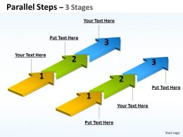 Parallel Steps 3 Stages 40