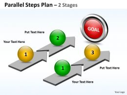 parallel_steps_plan_2_stages_style_14_Slide01