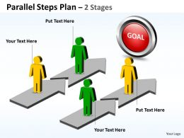 parallel_steps_plan_2_stages_style_17_Slide01