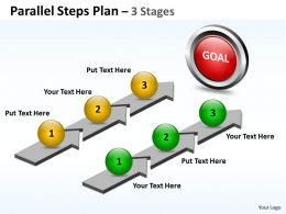 Parallel Steps Plan 3 Stages Style 41