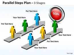 Parallel Steps Plan 3 Stages Style 43