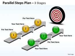 Parallel Steps Plan 3 Stages Style 44