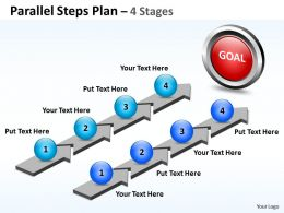 Parallel Steps Plan 4 Stages Style 40