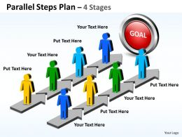 parallel_steps_plan_4_stages_style_42_Slide01