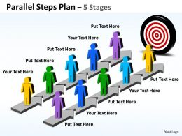 Parallel Steps Plan 5 Stages Style 34