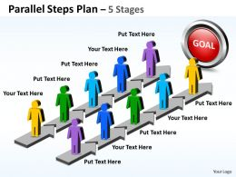 Parallel Steps Plan 5 Stages Style 35