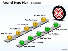 Parallel Steps Plan 5 Stages Style 36