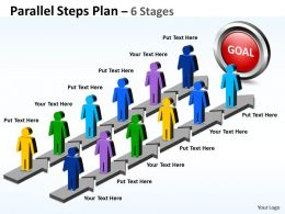 Parallel Steps Plan 6 Stages Style 23