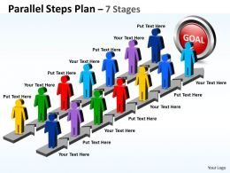 parallel_steps_plan_7_stages_style_18_Slide01