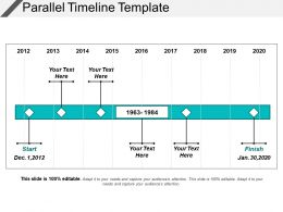 Parallel Timeline Template