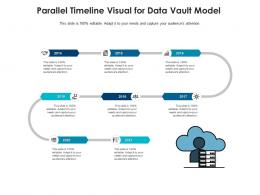Parallel Timeline Visual For Data Vault Model Infographic Template