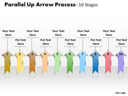 Parallel Up Arrow Process 10
