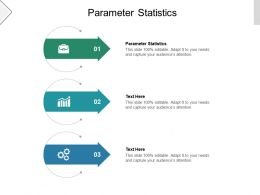 Parameter Statistics Ppt Powerpoint Presentation Model Background Images Cpb