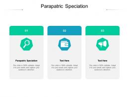 Parapatric Speciation Ppt Powerpoint Presentation Infographic Template Model Cpb