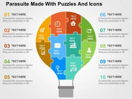 parasuite_made_with_puzzles_and_icons_flat_powerpoint_design_Slide01