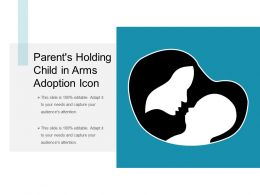 Parent S Holding Child In Arms Adoption Icon