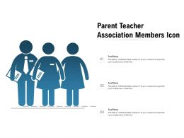 Parent Teacher Association Members Icon