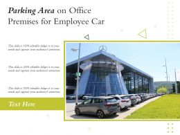 Parking Area On Office Premises For Employee Car