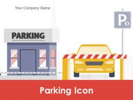 Parking Icon Bicycle Machine Prohibited Entrance Security Payment Chauffeur