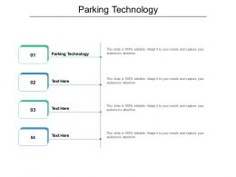 Parking Technology Ppt Powerpoint Presentation Infographic Template Deck Cpb
