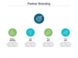 Partner Branding Ppt Powerpoint Presentation Outline Introduction Cpb