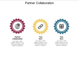 Partner Collaboration Ppt Powerpoint Presentation Ideas Rules Cpb