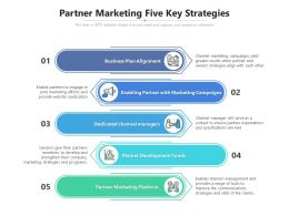 Partner Marketing Five Key Strategies