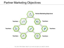 Partner Marketing Objectives Ppt Powerpoint Presentation Model Slides Cpb