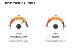 Partner Marketing Trends Ppt Powerpoint Presentation Ideas Topics Cpb