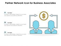 Partner Network Icon For Business Associates