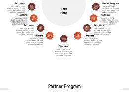Partner Program Ppt Powerpoint Presentation Show Designs Cpb