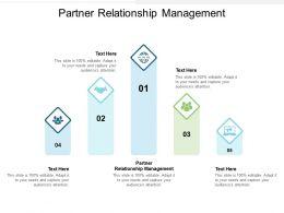Partner Relationship Management Ppt Powerpoint Presentation Inspiration Ideas Cpb