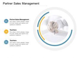 Partner Sales Management Ppt Powerpoint Presentation Outline Slide Portrait Cpb