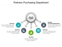 Partners Purchasing Department Ppt Powerpoint Presentation Layouts Graphics Example Cpb