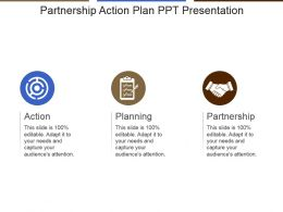 Partnership Action Plan Ppt Presentation
