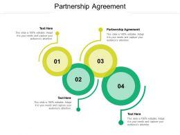 Partnership Agreement Ppt Powerpoint Presentation Inspiration Ideas Cpb