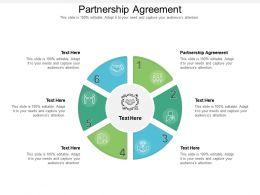 Partnership Agreement Ppt Powerpoint Presentation Portfolio Grid Cpb