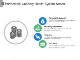 Partnership Capacity Health System Needs Penalties Delivering Leading