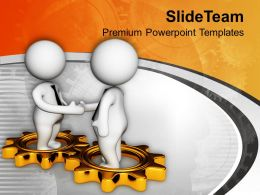 Partnership Global Business PowerPoint Templates PPT Themes And Graphics 0213