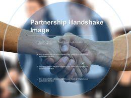 Partnership Handshake Image