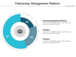 Partnership Management Platform Ppt Powerpoint Presentation Pictures Display Cpb