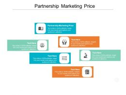 Partnership Marketing Price Ppt Powerpoint Presentation Infographic Template Example File Cpb