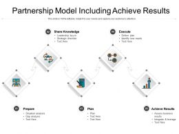 Partnership Model Including Achieve Results