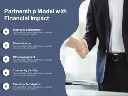 Partnership Model With Financial Impact