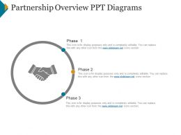 Partnership Overview Ppt Diagrams