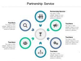 Partnership Service Ppt Powerpoint Presentation Ideas Portrait Cpb