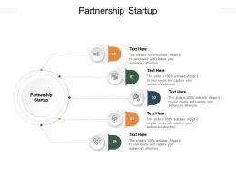 Partnership Startup Ppt Powerpoint Presentation Slides Cpb